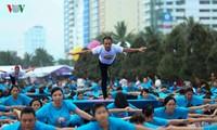 3rd International Yoga Day celebrated across Vietnam