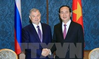 President Tran Dai Quang leaves Moscow for Saint Petersburg