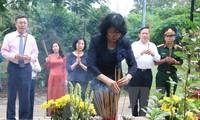 Leaders pay gratitude to martyrs, revolutionary contributors