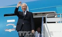 Party General Secretary Nguyen Phu Trong begins official visits to Indonesia, Myanmar