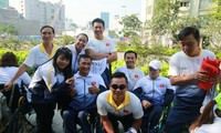 Physically-challenged athletes head for 9th ASEAN Para Games