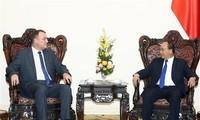 Prime Minister hosts outgoing Slovak ambassador