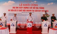 Dioxin clean up project begins in Bien Hoa airport
