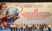 Vietnam celebrates 30 years participating in UPU contest