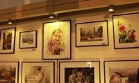 International watercolor exhibition opens in Hanoi