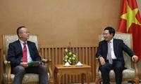 Deputy PM receives Asia-Pacific ITUC Secretary General
