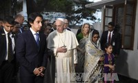 Pope Francis ends his trip to Asia