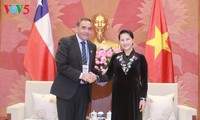 NA Chairwoman receives President of the Chamber of Deputies of Chile