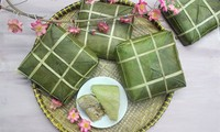 Tradition of making Chung cake for Tet