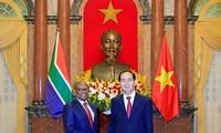 President Tran Dai Quang receives newly-accredited ambassadors