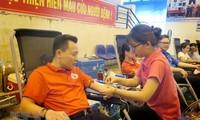 Blood donation activities held across Vietnam