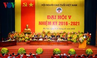 Inaugurada V Asamblea de Adultos Mayores de Vietnam