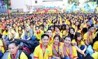 """Decenas de miles de jóvenes vietnamitas participan en campaña """"Primavera voluntaria"""" en urbe sureña"""