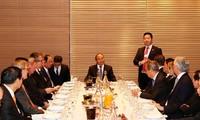 Vietnam incentiva inversiones de empresas líderes del mundo en territorio nacional