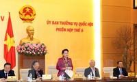 Parlamento vietnamita celebrará 10 sesiones del Comité Permanente en 2017