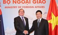 Vietnam y Nueva Zelanda determinados a elevar relaciones bilaterales a nive superior