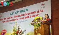 Vietnam conmemora Día Mundial de la Cruz Roja y de la Media Luna Roja