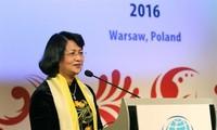 Vicepresidenta de Vietnam visita Mongolia y asiste a XXVII Cumbre Global de Mujeres en Japón