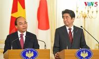 Rueda de prensa sobre conversaciones entre jefes de gobierno de Vietnam y Japón