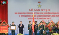 Presidente de Vietnam ensalza esfuerzos de combatientes guardafronteras en región norteña