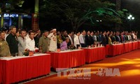 Vietnam continúan con vibrantes actividades en honor de los mártires de guerra