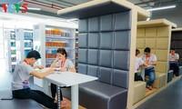 Biblioteca de alta tecnología motiva a los estudiantes