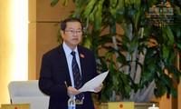 Ley de Defensa centra agenda de la sesión del Comité Permanente del Parlamento de Vietnam
