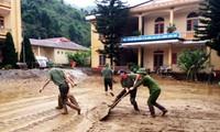 Vietnam aúna esfuerzos para ayudar a las víctimas de las inundaciones en la región del noreste