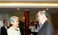 Unesco comprometida a ayudar a la conversión de Ciudad Ho Chi Minh en urbe inteligente