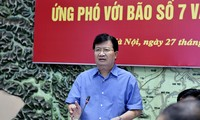 Localidades de Vietnam preparan el enfrentamiento ante el séptimo huracán