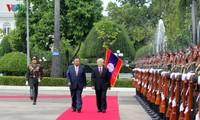 Las relaciones Vietnam-Laos siguen prosperando