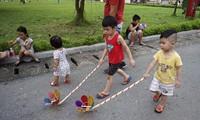 """""""Fiesta del Medio Otoño 2017"""", un campo de juego para la infancia"""