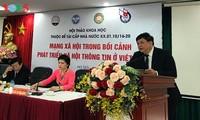 Vietnam aboga por incrementar la cooperación internacional en la gestión de medios de comunicación