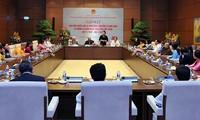 Dirigentes del Gobierno y del Parlamento orientan el desarrollo educativo