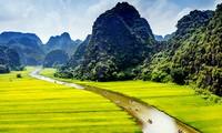 La tarde amarilla en Tam Coc