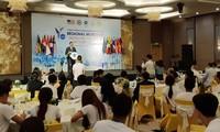 Jóvenes del Sudeste Asiático unen las manos en la preservación ambiental