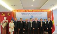 Thắt chặt tình đoàn kết, hữu nghị Việt Nam – Lào