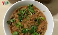 Món chấm từ đỗ tương của người Thái Sơn La
