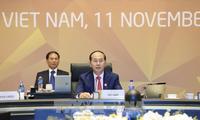 Clôture du Sommet des dirigeants des économies membres de l'APEC