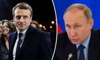 Putin y Macron hablan de terrorismo y Ucrania en primer contacto por teléfono