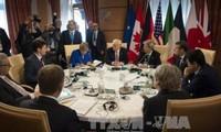 El G7 firma en Taormina una declaración de lucha contra el terrorismo