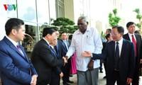 Presidente parlamentario cubano visita provincia de Son La