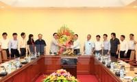 Felicitan a VNA por aniversario de la Prensa Revolucionaria de Vietnam