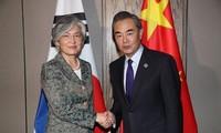 China y Corea del Sur por mejorar sus relaciones