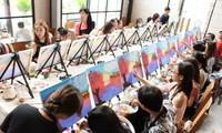 Tipsy Art, un lugar fantástico para pintores aficionados