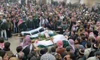 Kekerasan terus bereskalasi di Suriah.