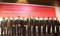 Pembukaan Konferensi Menteri Telekomunikasi dan Teknologi Informasi ASEAN