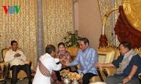 Delegasi  Tingkat Tinggi Vietnam mengakhiri dengan baik kunjungan di Laos