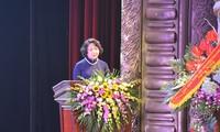 Peringatan ultah ke-25 terbentuknya Dana Sponsor Anak-Anak Vietnam