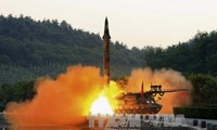 North Korean new missle test